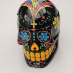 Skull Jar Black