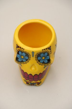 Skull Shooter Cup Yellow