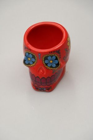 Skull Shooter Cup Red