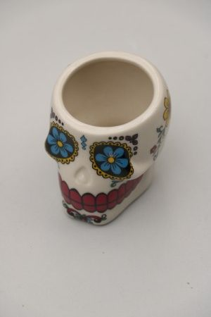 Skull Shooter Cup White