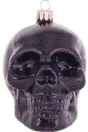 Skull Black Glitter