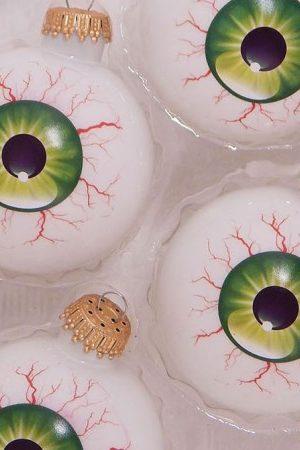 Eyeball Christmas Ornament